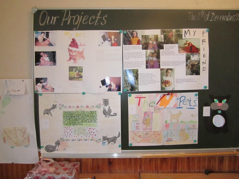 Как сделать проект по английскому языку 5 класс
